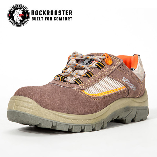 LEYLAND---ROCKROOSTER safety shoe with suede leather -AM606 BE