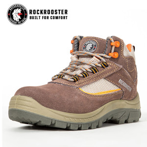HALEWOOD---ROCKROOSTER safety shoe with suede leather -AM607 BE