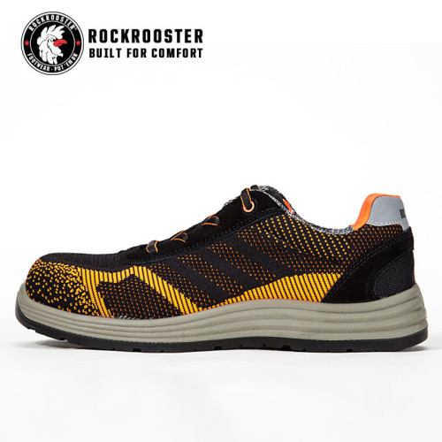 ELURA---Fly Knitting safety footwear with composite tole and COOLMAX linging