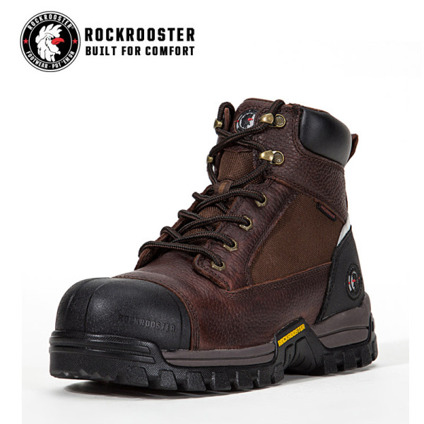 DAVISTON---ROCKROOSTER AT SERIES MEN'S HIKING SAFETY BOOTS WITH CARBON COMPOSITE TOECAP