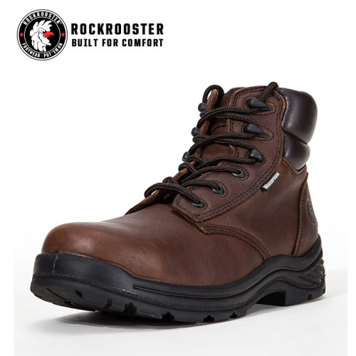 THOMASTON---ROCKROOSTER AT SERIES MEN'S HIKING SAFETY BOOTS WITH CARBON COMPOSITE TOECAP