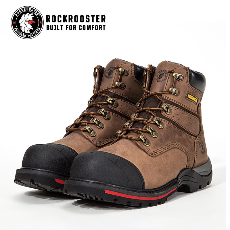 a8af032b8f6a REDINGTON---ROCKROOSTER AP Series Men s work boots Lace up boots with  composite toe cap