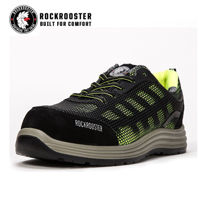 SWINDON-ROCKROOSTER AU SERIES KPU safety footwear with composite tole and COOLMAX linging