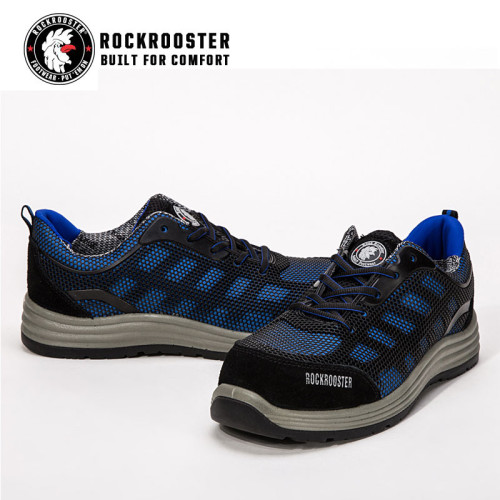 LUTON-ROCKROOSTER AU SERIES KPU safety footwear with composite tole and COOLMAX linging