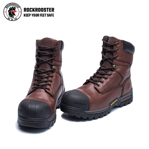KINGSTON---ROCKROOSTER AT SERIES MEN'S HIKING SAFETY BOOTS WITH CARBON COMPOSITE TOECAP