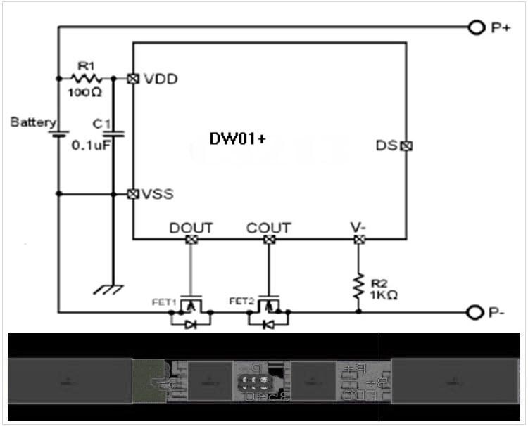 锂电池电路图