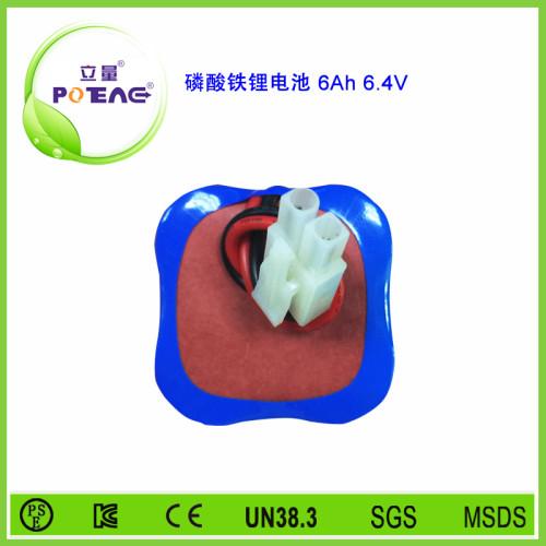 6.4V 26650 6Ah磷酸铁锂电池组