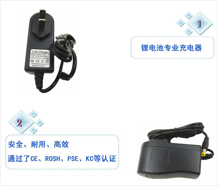 立量锂电池充电器