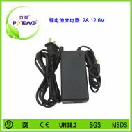 12.6V 2A 锂电池充电器