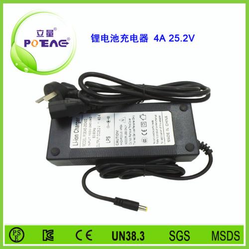 25.2V 4A 锂电池充电器