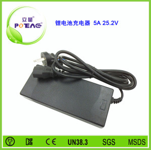 25.2V 5A 锂电池充电器