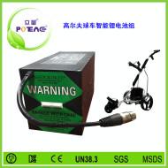 高尔夫球车智能锂电池组