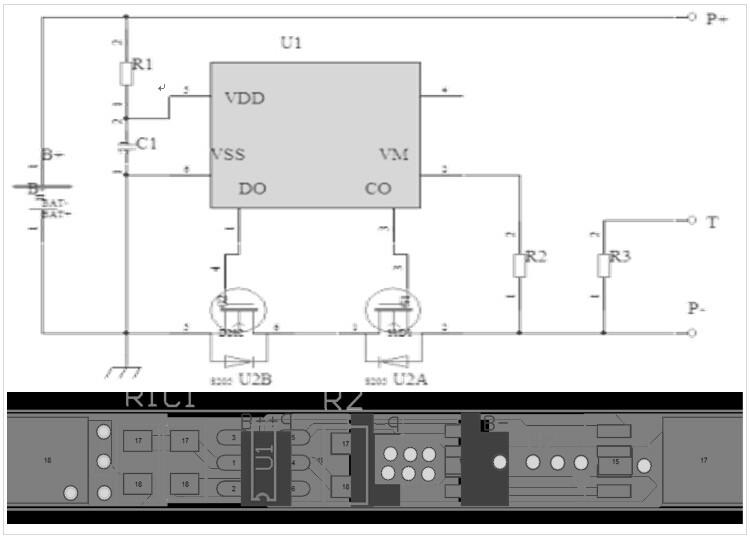 1S1P聚合物锂电池组