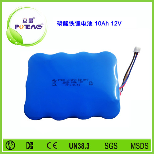 12V  26650 10Ah磷酸铁锂