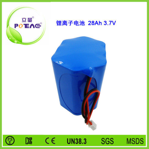 3.7V ICR18650 28Ah锂电池组