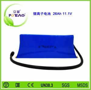 11.1V ICR18650 26Ah锂电池组