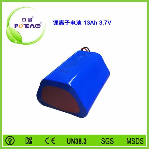 3.7V ICR18650 13Ah锂电池组
