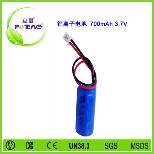 3.7V ICR18350 700mAh锂电池组
