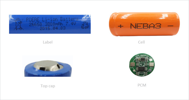 rechargeable 7.4v batteries