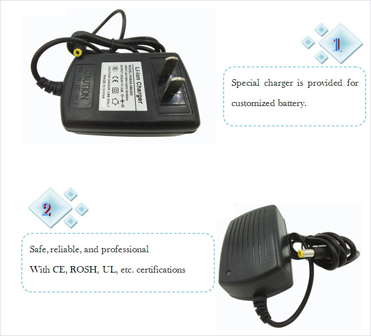7.4v li-ion battery charger