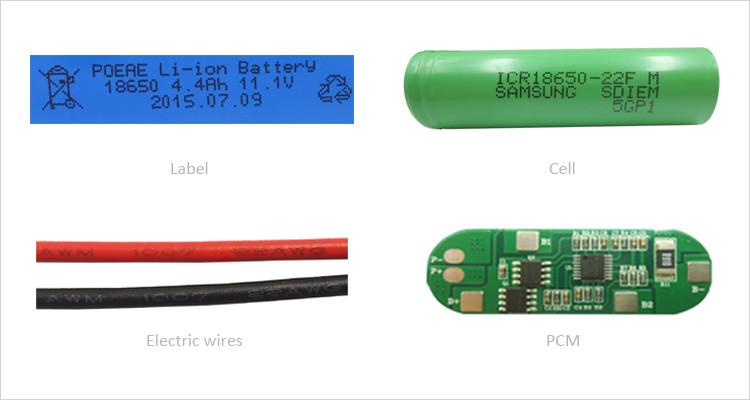 li ion battery 1s4p