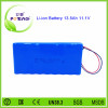 Hot sale rechargeable 3S9p 18650 12 volte 13.5Ah lithium ion battery for electric wheel chair spotlight in Canada