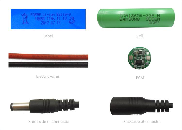 li-ion battery 12v 8000mah