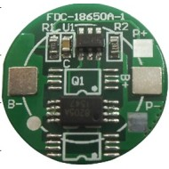 Rould 1s protection PCB board for rechargeable lithium ion battery