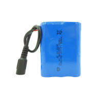 Rechargeable 3s1p 11.1v 2200mah li-ion battery packs for vehicle terminal led lights China