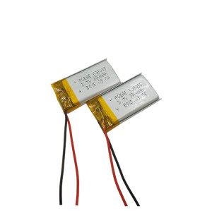 Small rechargeable 3.7V 300mAh li polymer battery 502035 for head light