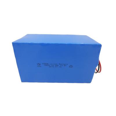 Custom 18650 14.8v 15.4ah lithium battery pack for power caddy/golf cart UK
