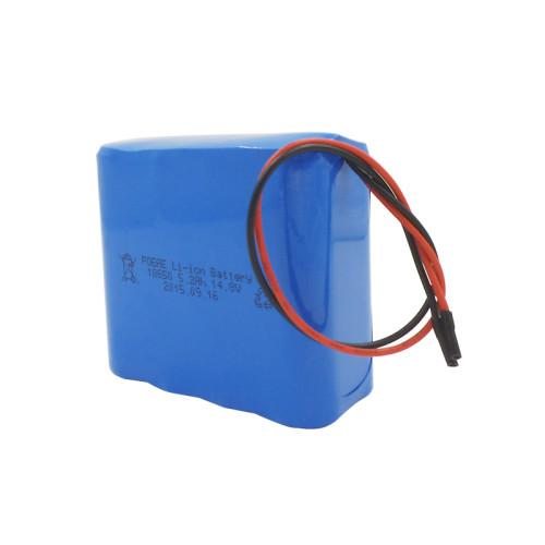 4s2p 14.8v 5200mah li-ion battery oack for robotic vacuum/power tool in Singapore