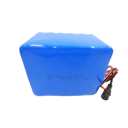 24v 13ah lithium ion battery pack 18650 6s5p for electric bicycle/lawn mower Malaysia