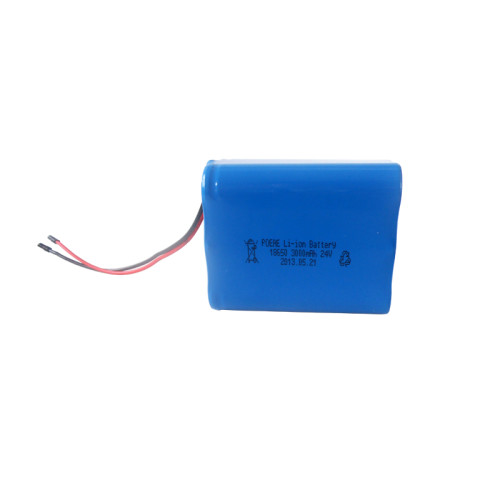 18650 6s1p 24v 3000mah lithium battery pack for cordless drill/power tools in usa
