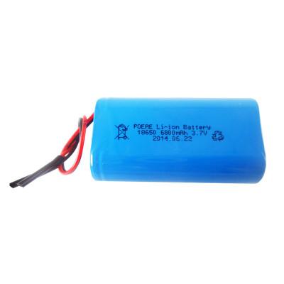 OEM 18650 3.7V 6800mah li-ion rechargeable battery for LED emergency light France