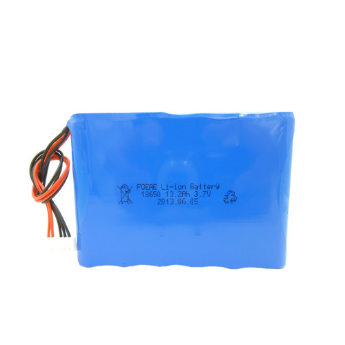 Good cell rechargeable 3.7V 13000mah li-ion battery pack for air pump race cars Dongguan