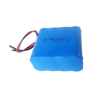Since 2007 7.4v 10000mah 18650 lithium ion battery pack for robot/outdoor lights Dongguan
