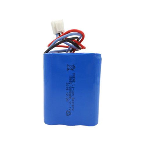 18650 6000mah 11.1v rechargeable li ion battery pack for cordless vacuum cleaner China