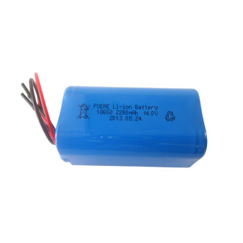 4s1p 14.8v 2200mah 18650 li-ion battery pack for medical device robot cleaner sales in USA