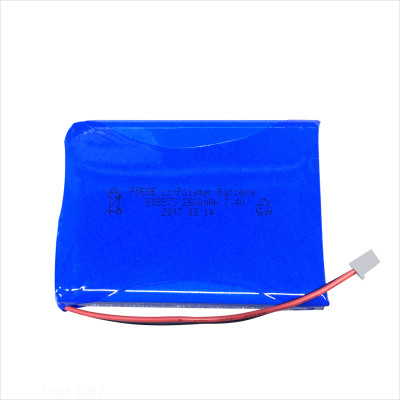 OEM 505573 7.4v 2500mah lipo battery pack for helicopter toy pos machine China