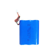 3S1P 12V 2.4Ah rechargeable li-ion 18650 battery pack for alarm telescope Malaysia