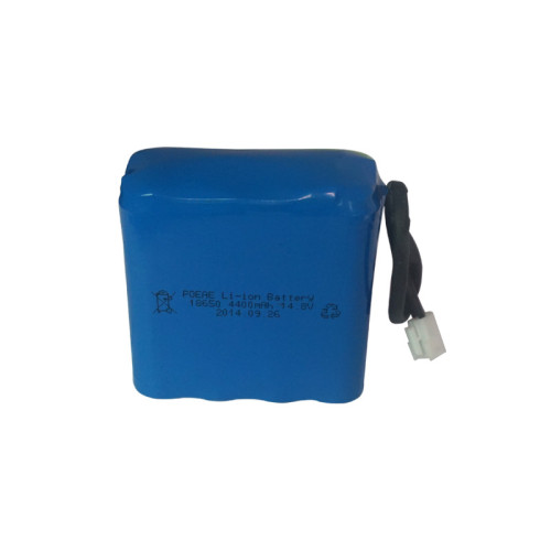 4S2P 18650 14.8V 4400mah rechargeable lithium ion battery pack for breathing machine stage light CN