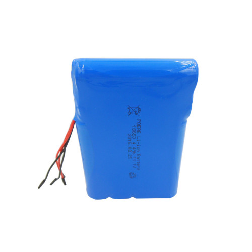 12 volt 18650 4.4ah lithium ion battery pack for solar charging emergency lighting Dongguan