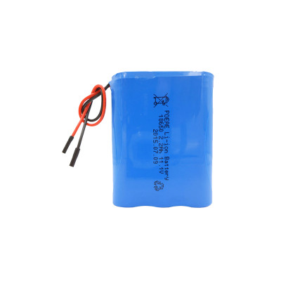 The  18650 3s1p 12v 2200mah lithium-ion rechargeable battery pack for led strip lights