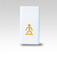 OEM 5v 2a large capacity10000 mah power bank with led light China
