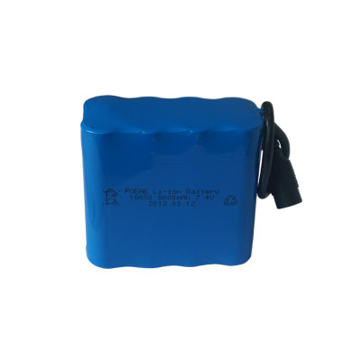 2s4p 7.4v 8ah li-ion 18650 battery pack electric vehicle/storage system for solar panels uk