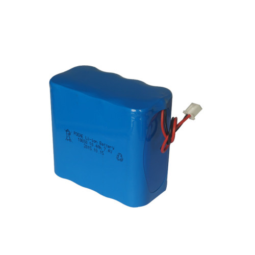 2S4P 7.4V 10Ah 18650 rechargeable li ion battery for camping lantern loudspeaker Shenzhen