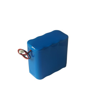 2S4P 7.4V 10Ah 18650 rechargeable li ion battery for camping lantern loudspeaker Shenzhen