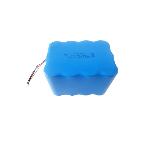 2s6p 26650 6.4v 20ah deep cycle rechargeable lifepo4 battery pack backup for solar panels lights in UK