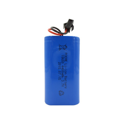 18650 3.7V 4400mah rechargeable lithium battery pack for camping lantern flashlight USA